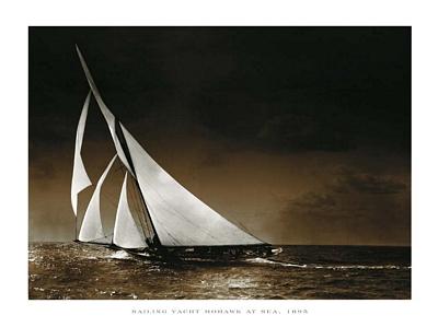 Mohawk at Sea, 1895